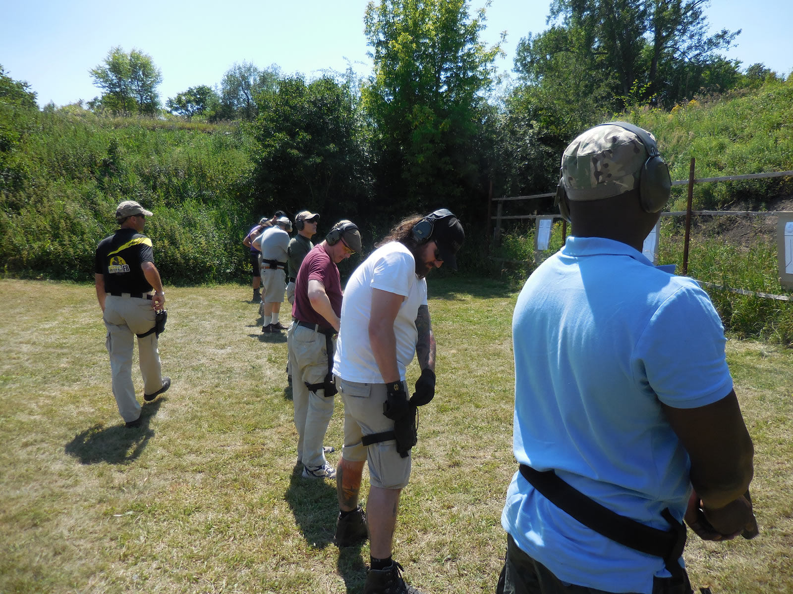 Basic Pistol Instruction