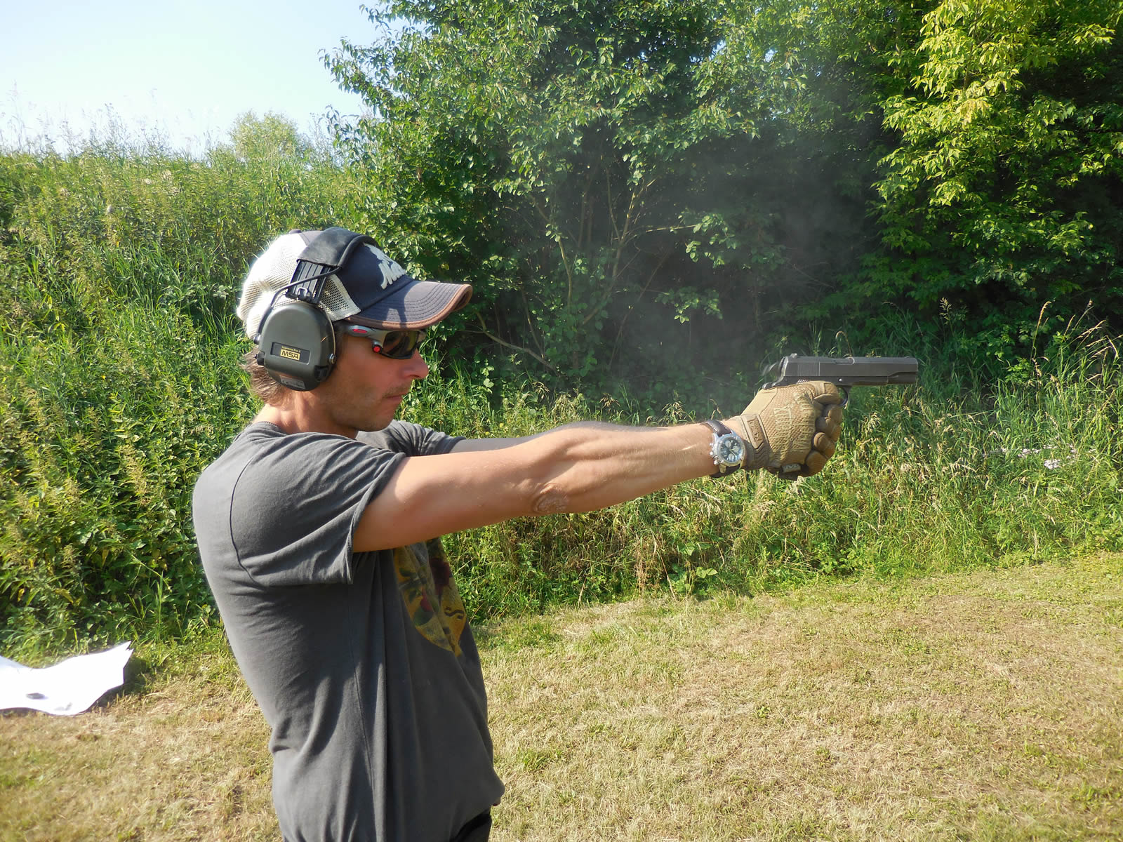 Trying out the 1911