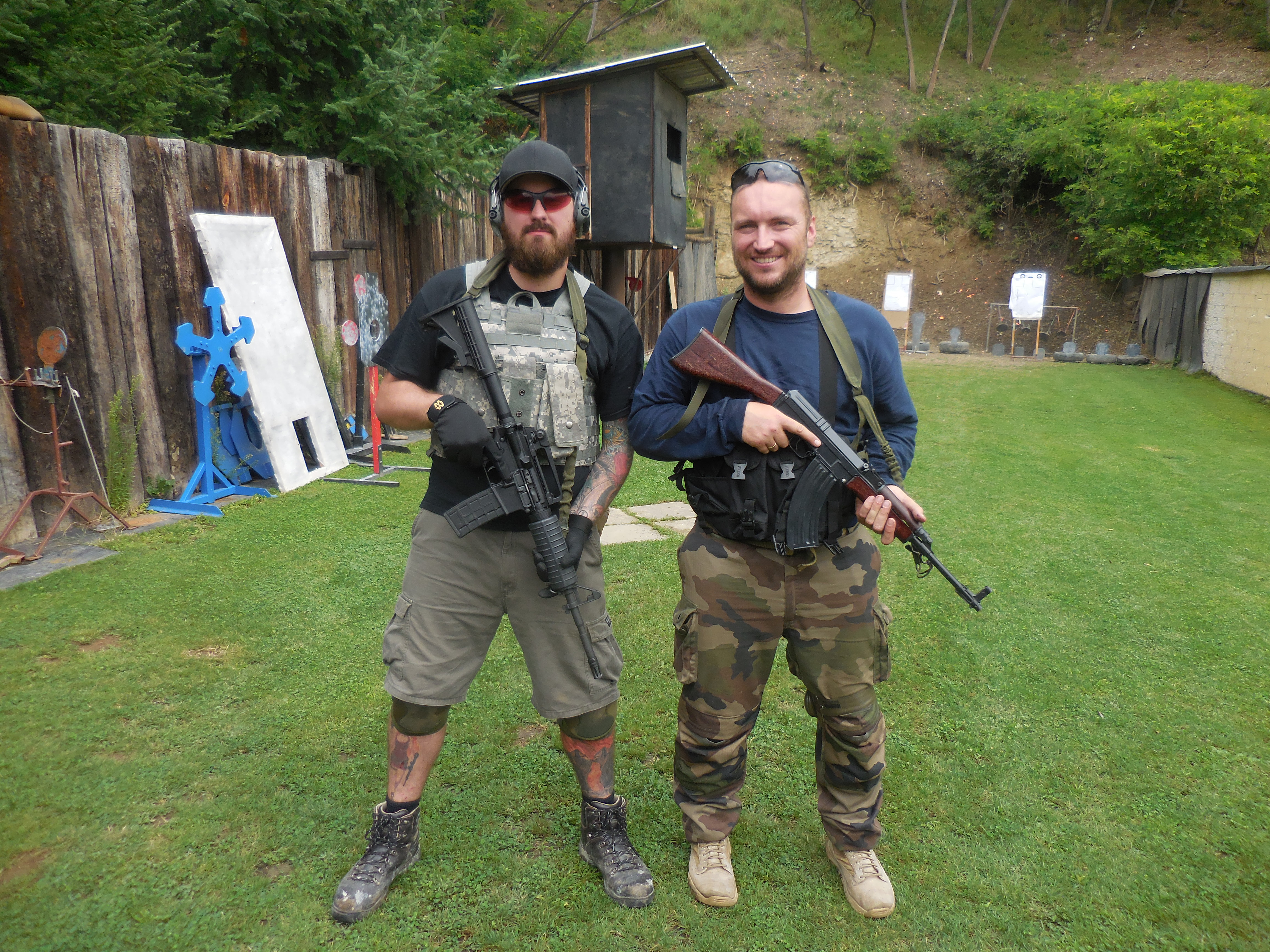 Advanced Student With Instructor Lubos